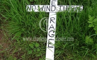 No to wind turbine