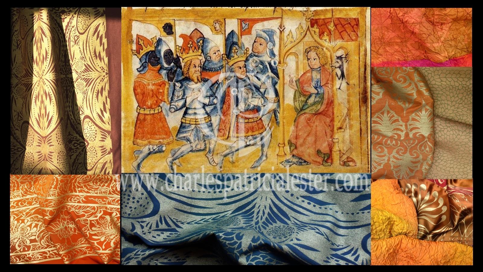 textiles dark ages