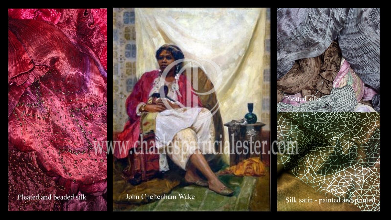 Period drama textiles
