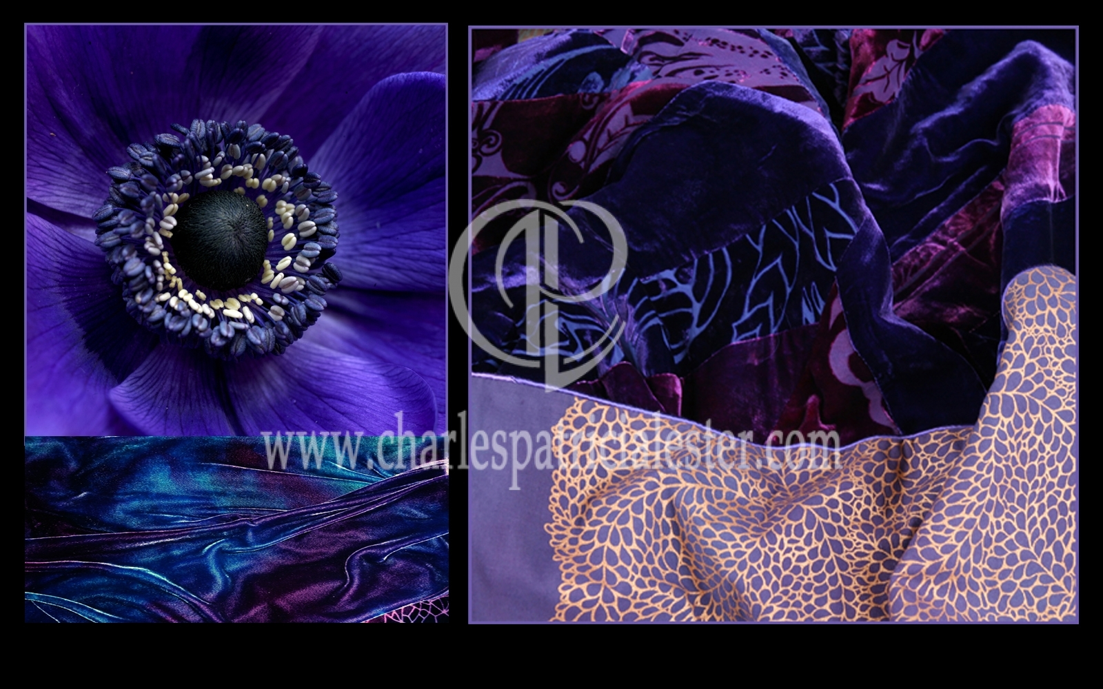 Art textiles for film set design