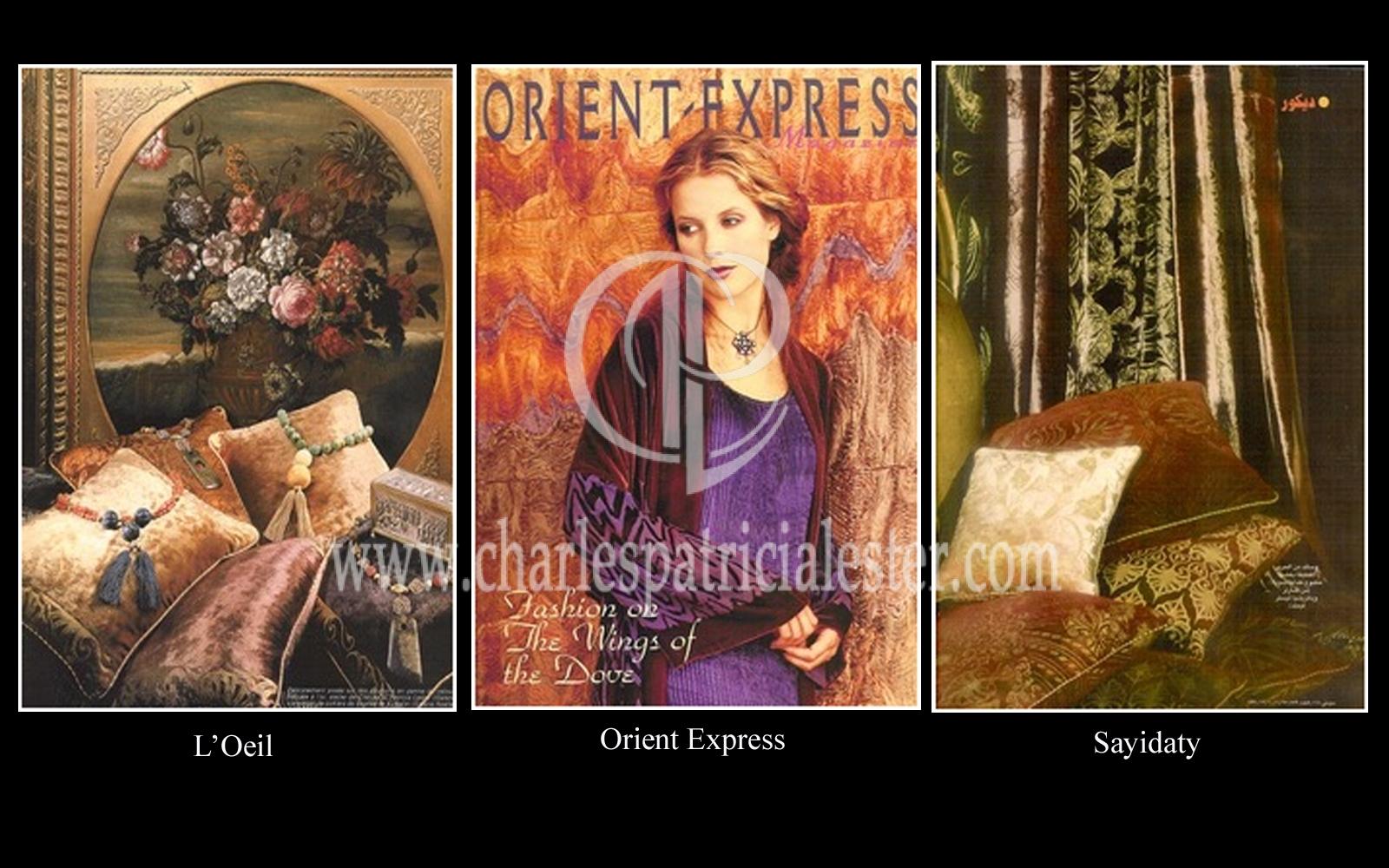 Orient Express, L'Oeil, Sayidaty interior pictures
