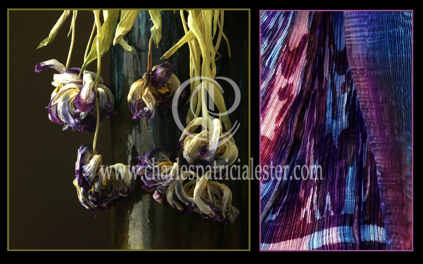 Faded flowers to vintage style textiles for theatre
