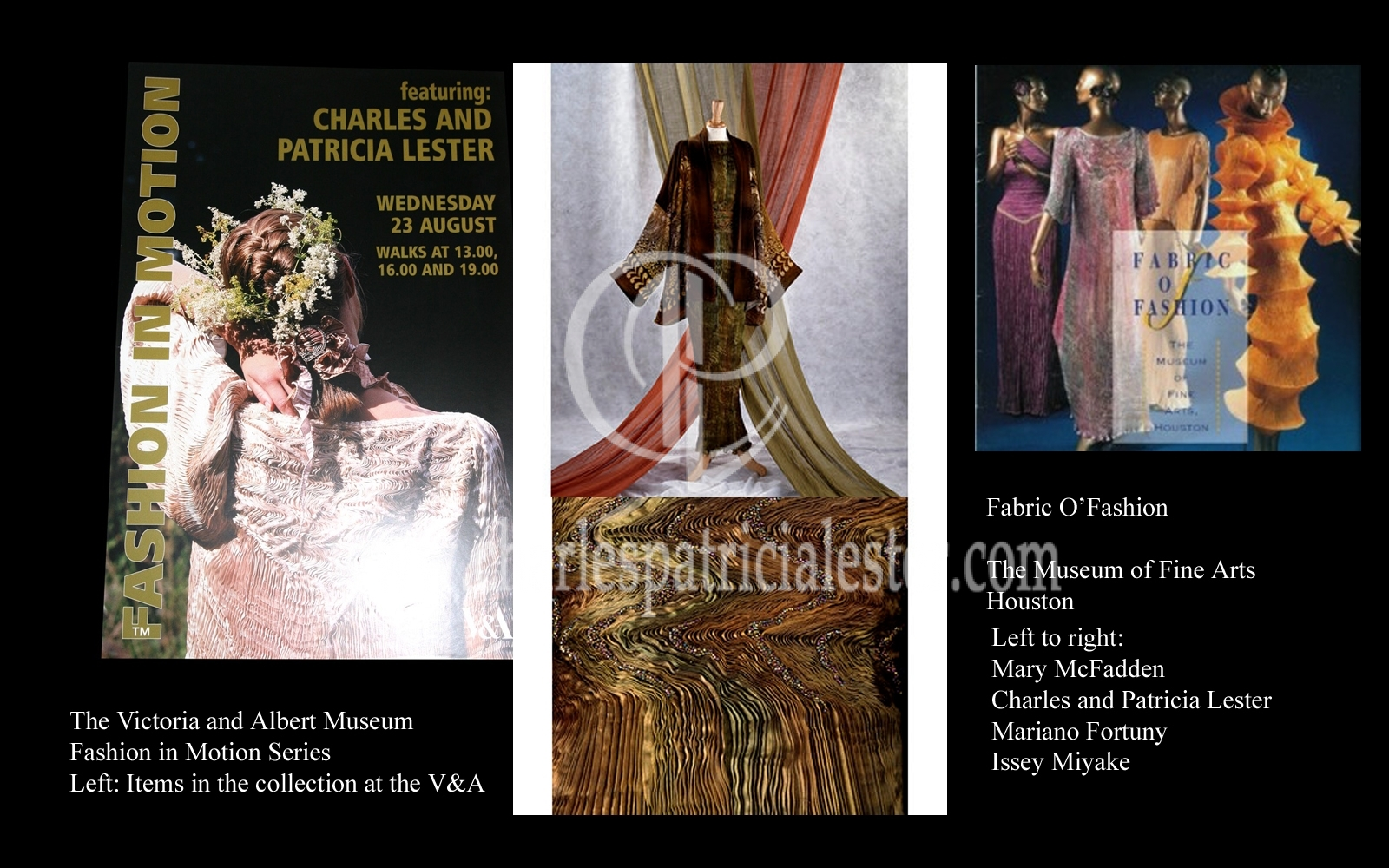 Museums showing luxury textile art