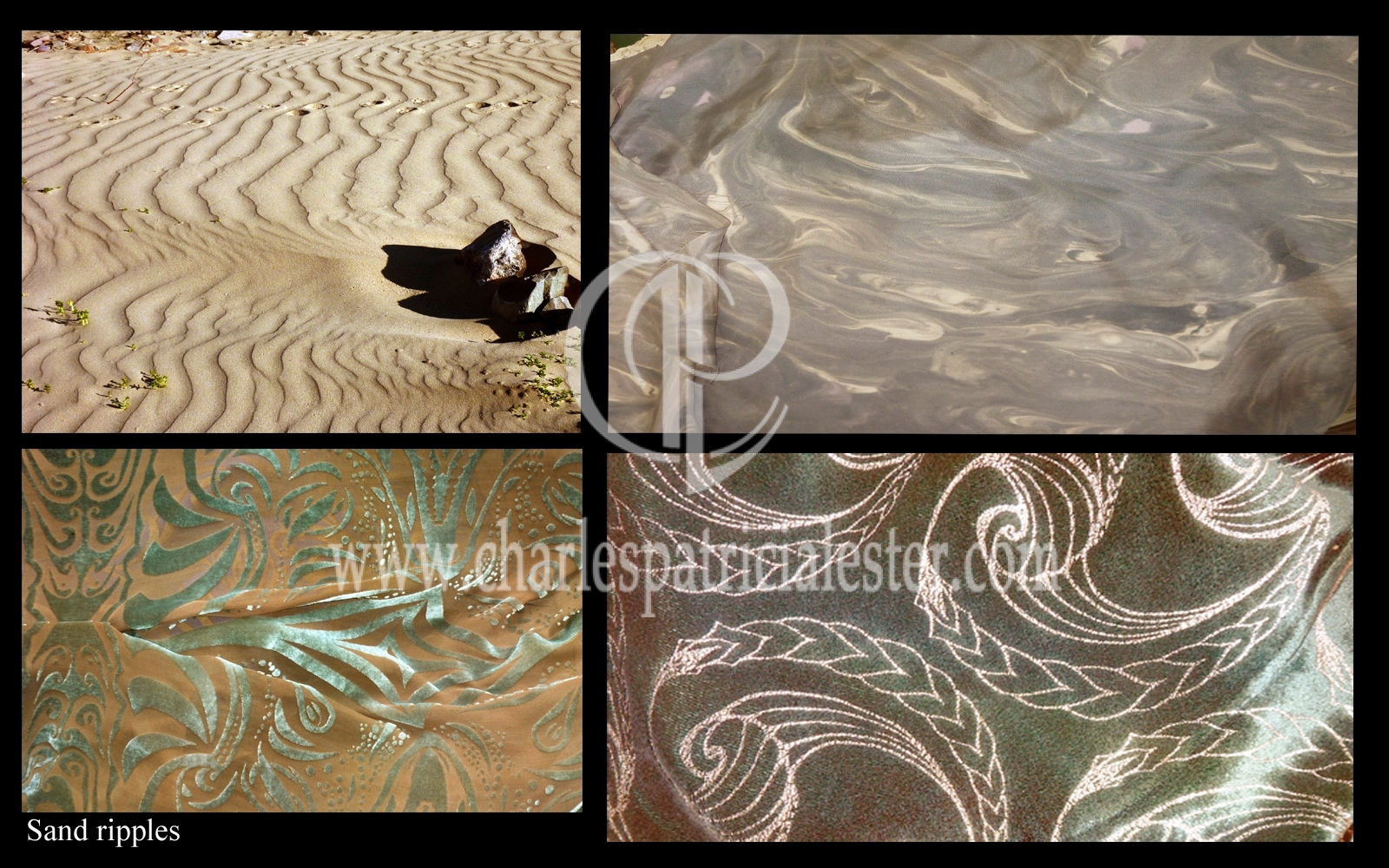 Sand Ripples Stone shades of nude and shadows super yacht interior design