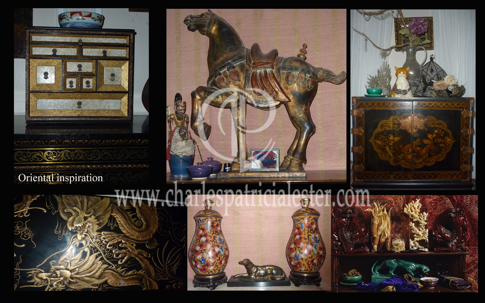 Oriental inspiration around our home