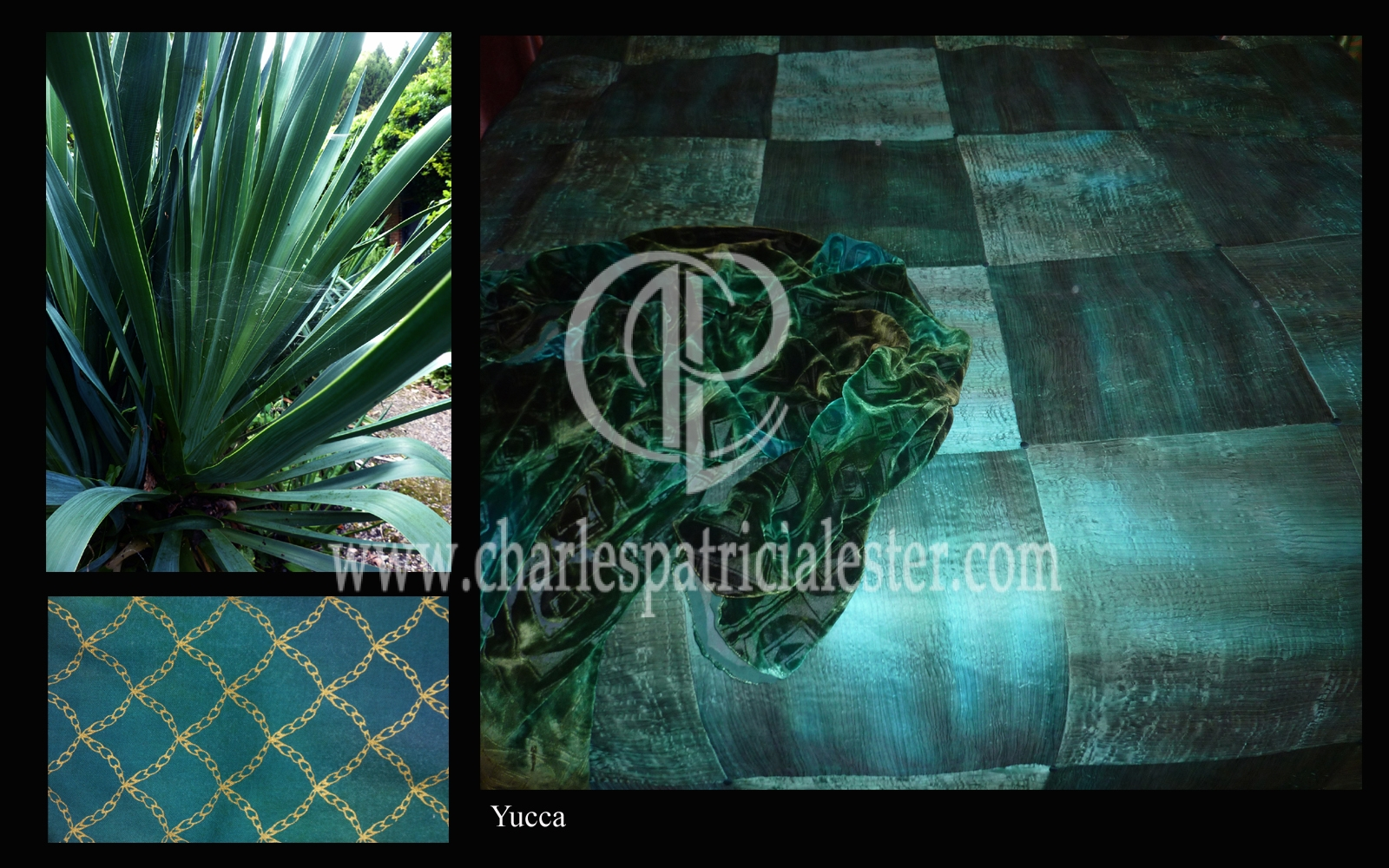 Yucca inspiration for colour and texture for luxury sensual home